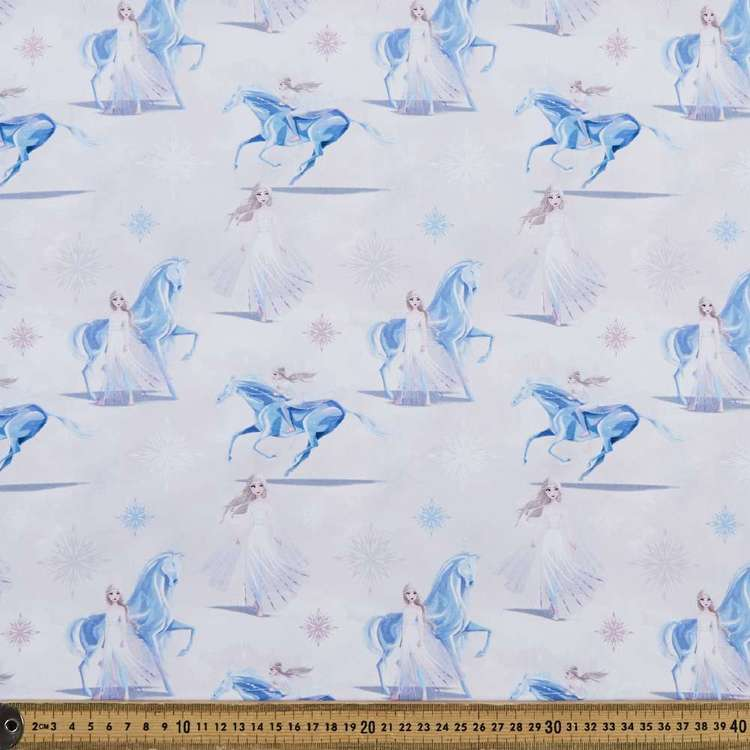 Frozen 2 Elsa & Horse Cotton Fabric