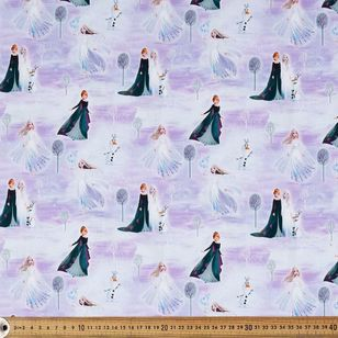Frozen 2 Characters Cotton Fabric