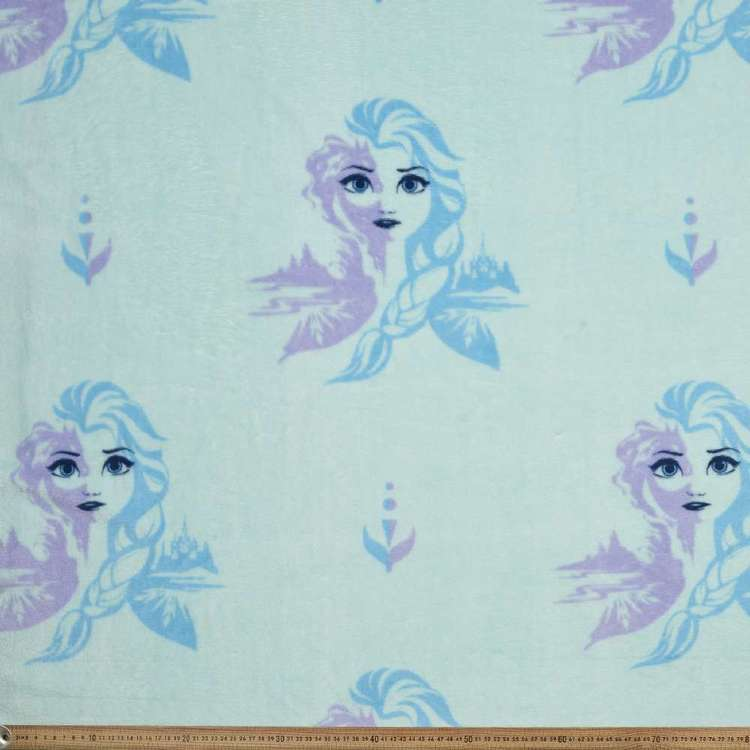 Frozen 2 Elsa Coral Fleece Fabric