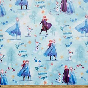 Frozen 2 Elsa & Anna Minky Fleece Fabric