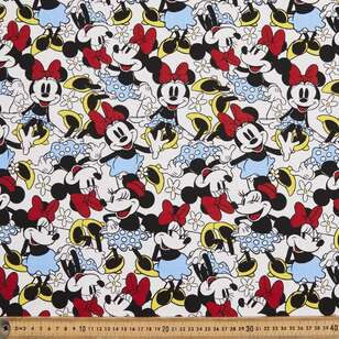 Disney Minnie Mouse Cotton Duck Fabric