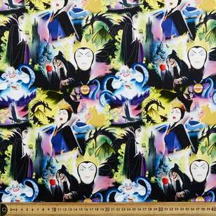 Dark Disney Villains 2 Cotton Fabric