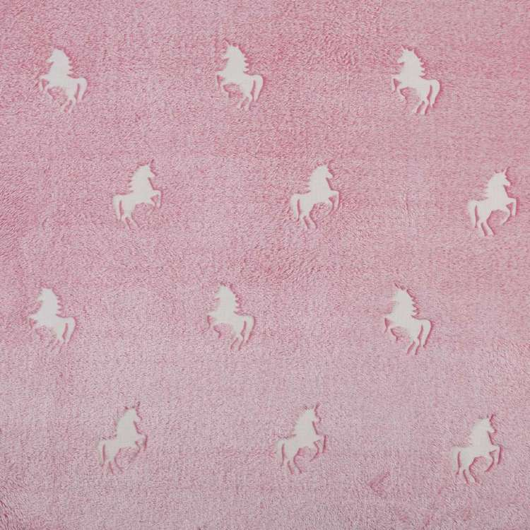 Kids House Glow in the Dark Teddy Unicorn Quilt Cover Set