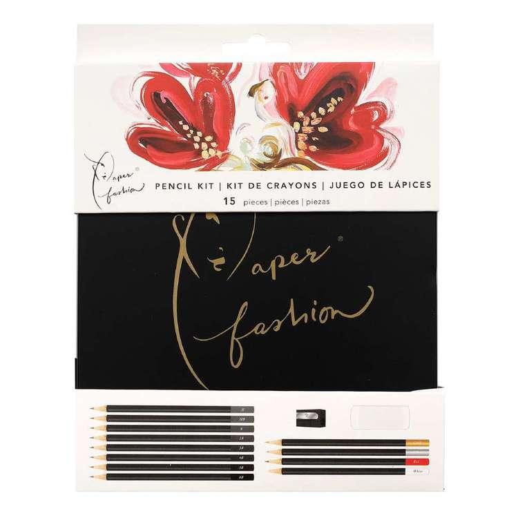 American Crafts Paper Fashion Pencil Kit