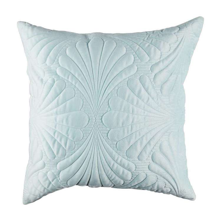 KOO Iris Quilted Velvet European Pillowcase