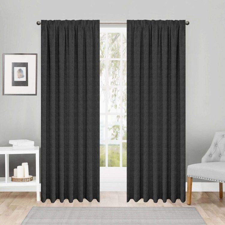 Gummerson Maine Blockout Pencil Pleat Curtains