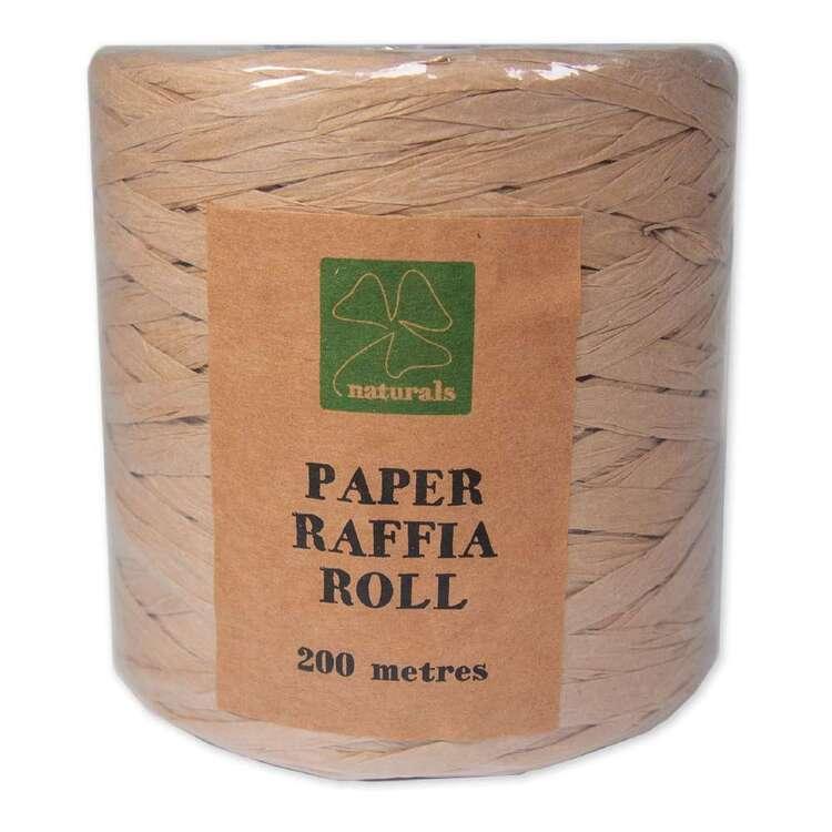 Shamrock Naturals Paper Raffia Roll