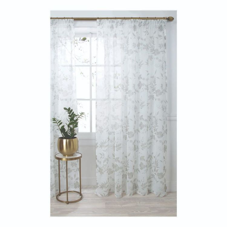 KOO Avery Pencil Pleat Sheer Curtains