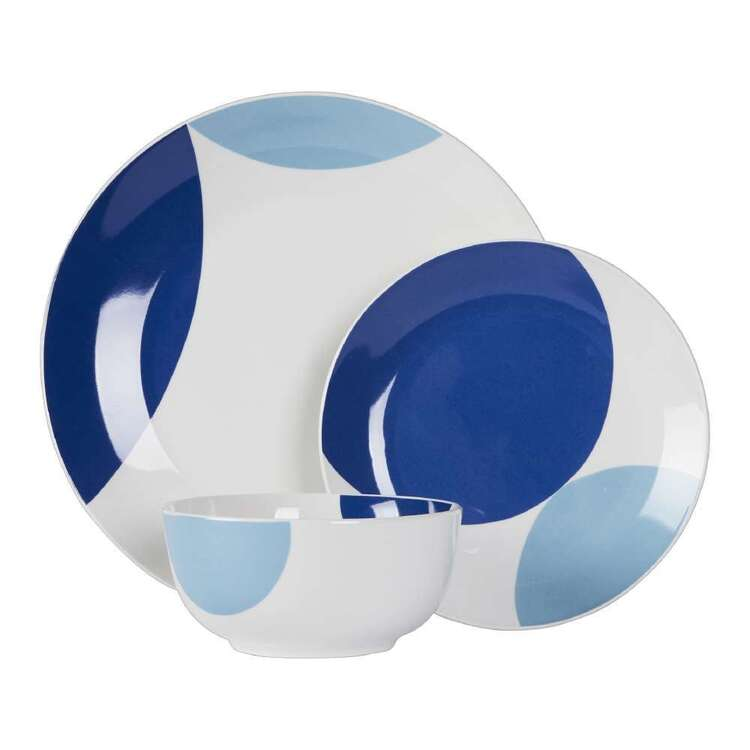 Culinary Co Indigo 12 Piece Dinner Set