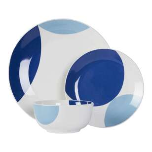 Kitch & Co Indigo Dinner Set 12 Piece