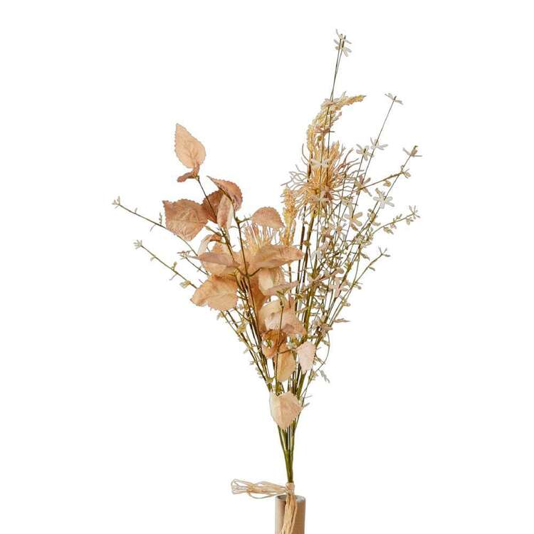 Dried Wildflowers With Leaves Bundle 66 cm