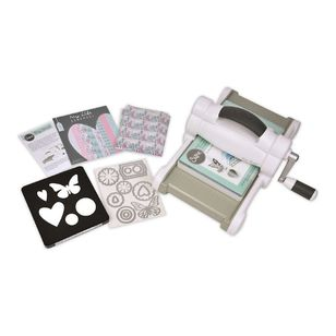 Sizzix BigShot Starter Pack With Card And Fabric