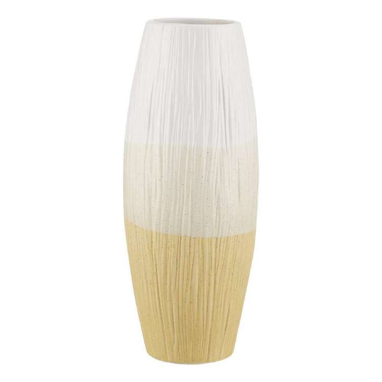Bouclair Beach Villa Ceramic Vase