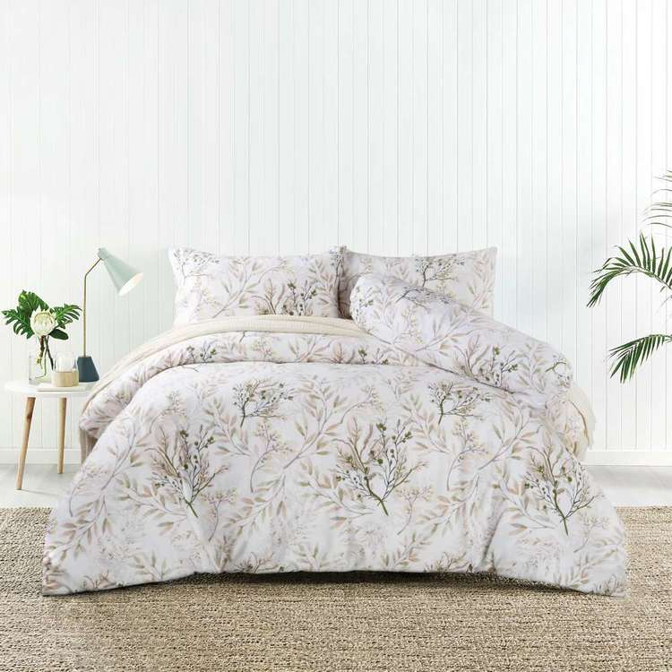 KOO Ily Cotton Bolster Quilt Cover Set