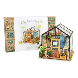 Robotime Cathy Flower House Mini House Kit