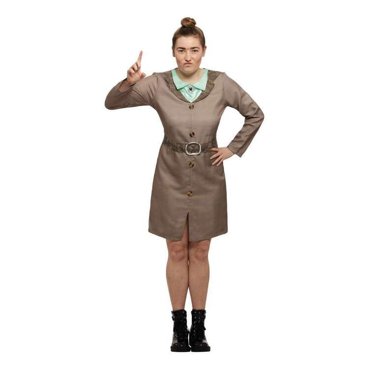 Matilda Trunchbull Adult Costume Brown