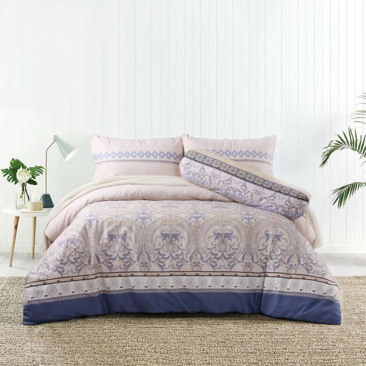 KOO Barack Cotton Bolster Quilt Cover Set