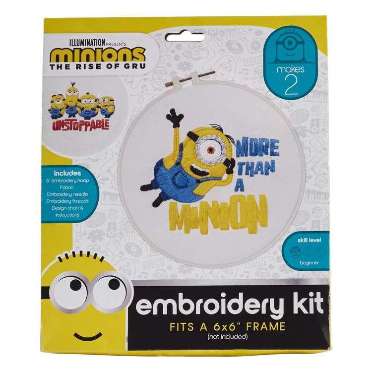 Minions 2 More Than A Minion Cross Stitch Kits