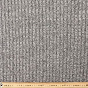 Lurex Ribbed Knit Fabric