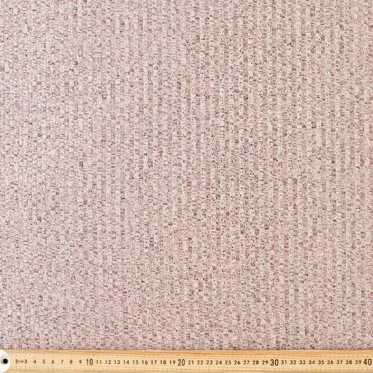 Glitter Rib Knit Fabric