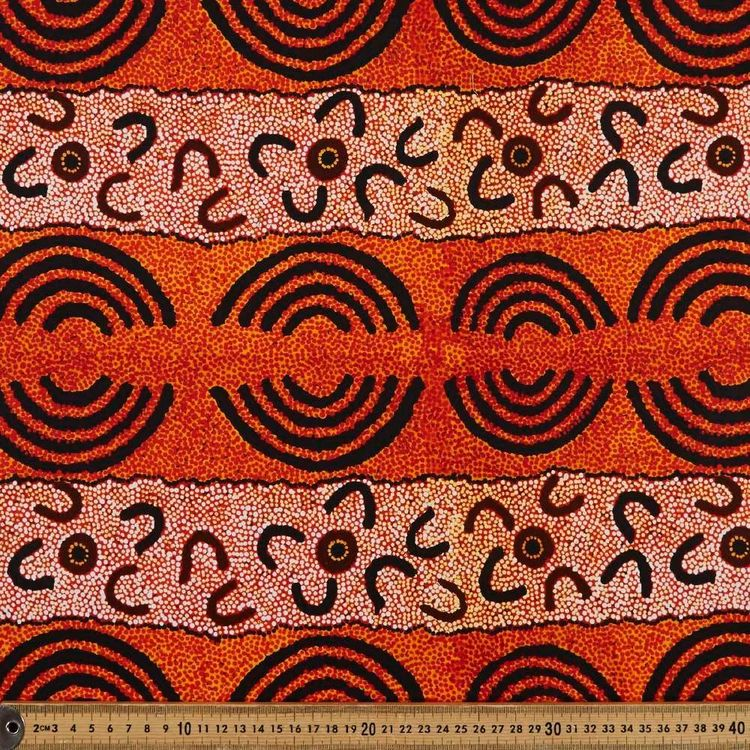 Maureen Indigenous Women's Ceremony Cotton Fabric
