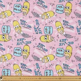 The Simpsons Mr Sparkle Cotton Fabric