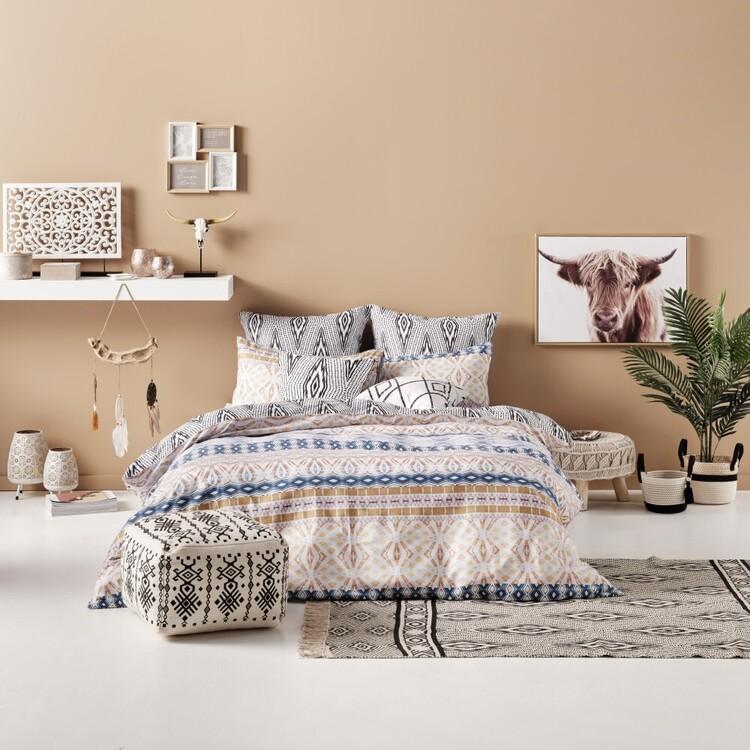 Ombre Home Artisan Soul Farrah Quilt Cover Set
