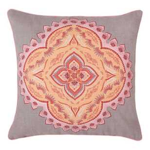 Ombre Home Artisan Soul Dreamers Mandala Cushion