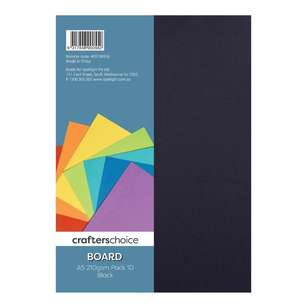 Crafters Choice 210 gsm 10 Pack Board