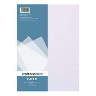 Crafters Choice 10 Pack Vellum