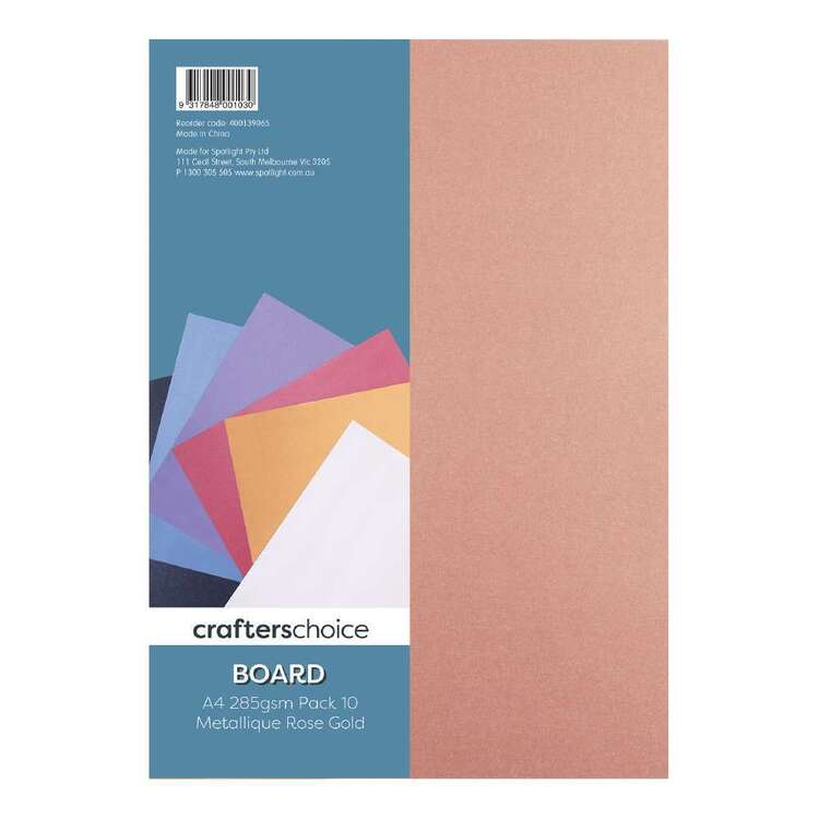 Crafters Choice Metallic Board 10 Pack