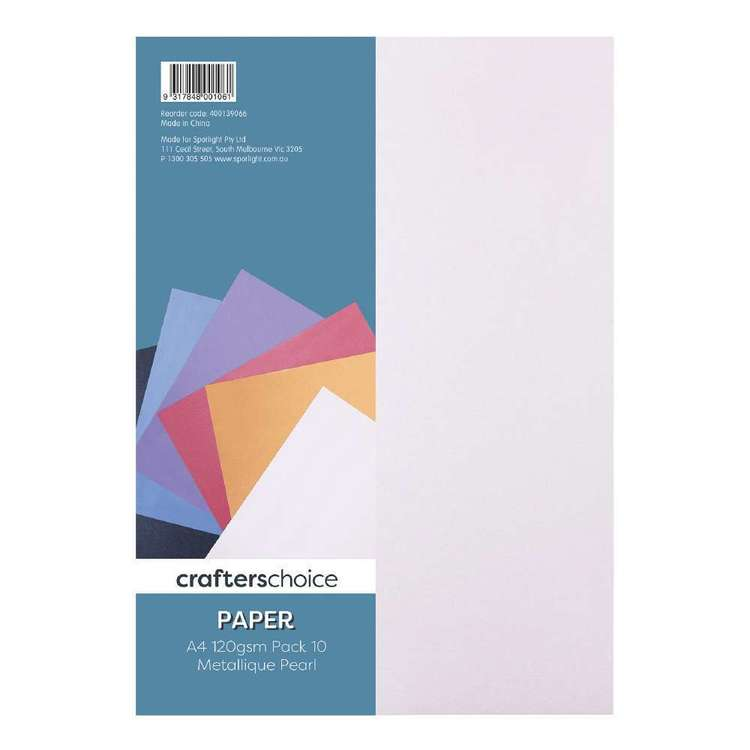 Crafters Choice 10 Pack Metallic Paper