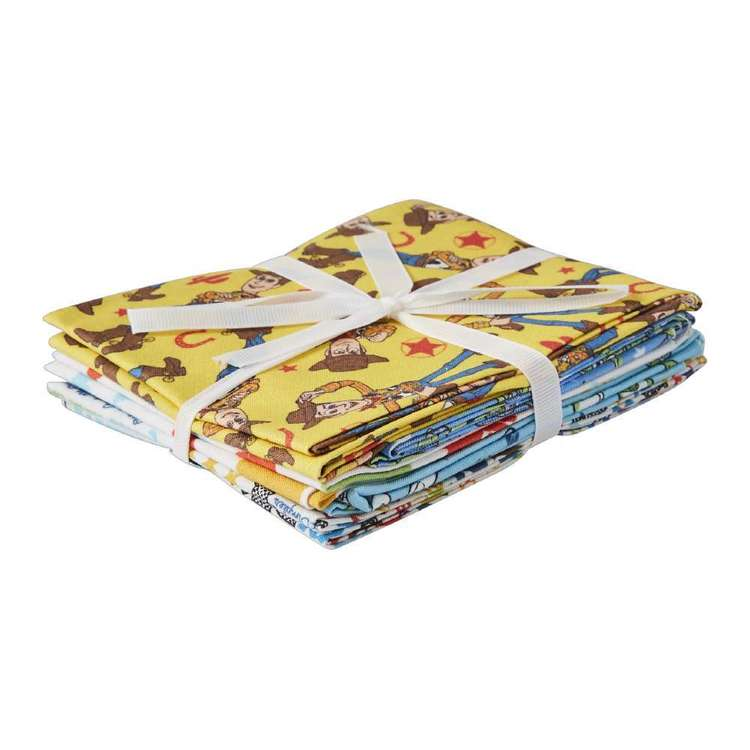 Disney Woody & Buzz 5 Piece Fat Quarter Bundle