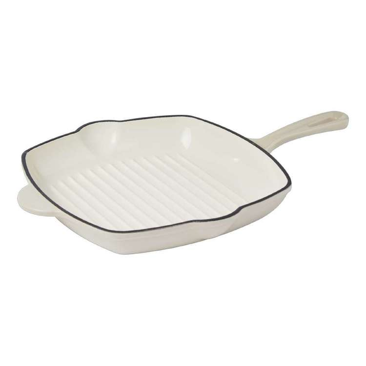 Culinary Co Enamel Cast Iron Grill Pan