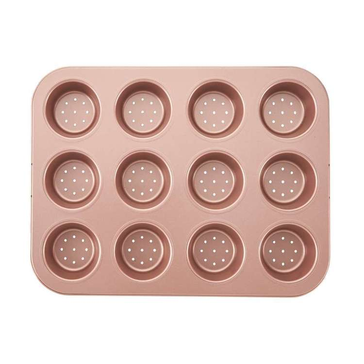 Wiltshire Mini Tart & Quiche Pan Rose Gold 12 Cup