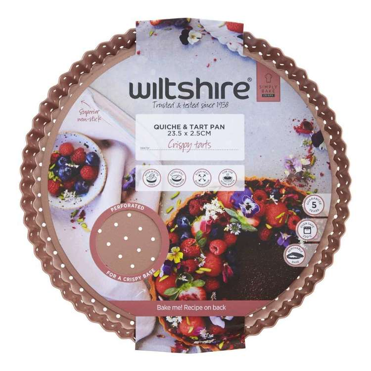 Wiltshire Perforated Round Quiche Pan