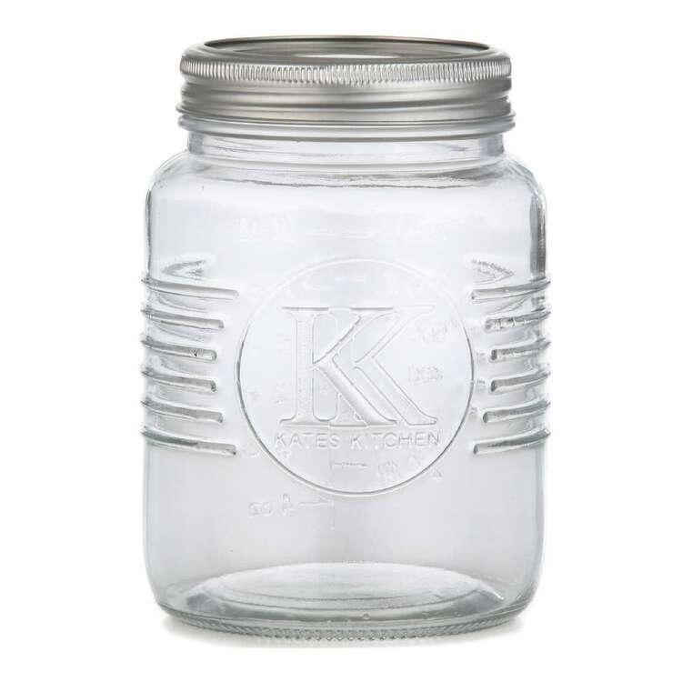 800 mL Jar With 2 Piece Lid