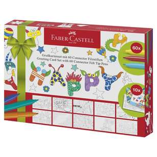 Faber Castell Greeting Card Making Set