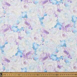 Peonies Allover Cotton Fabric