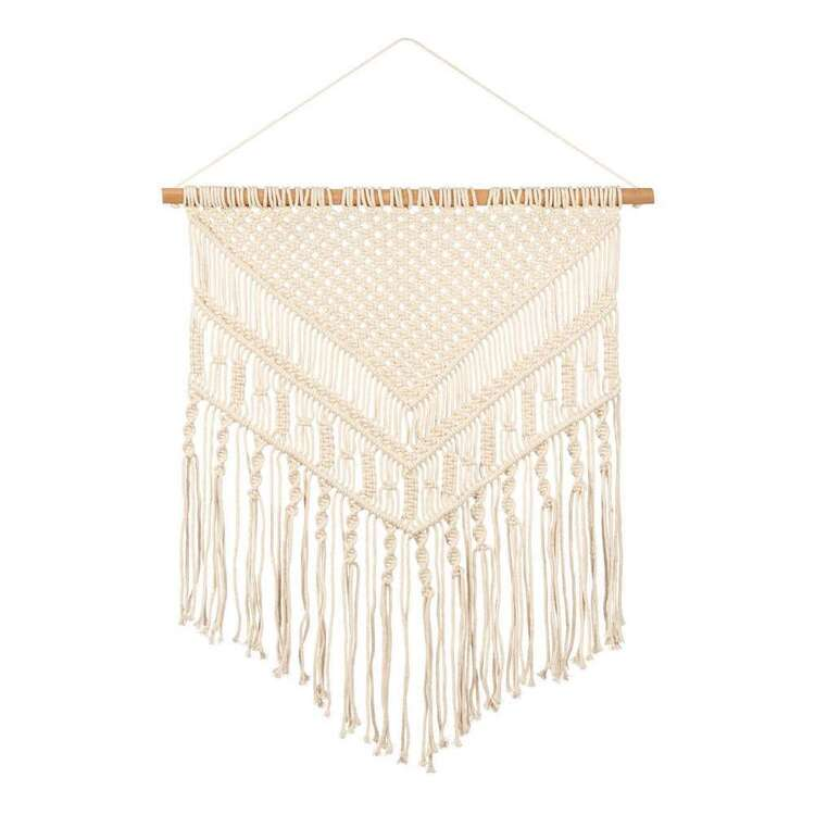 Bouclair Beach Villa Macrame Wall Hanging