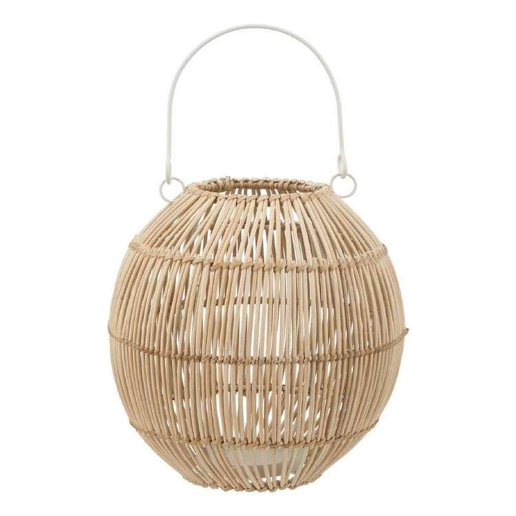 Bouclair Beach Villa Rattan Lantern Ball