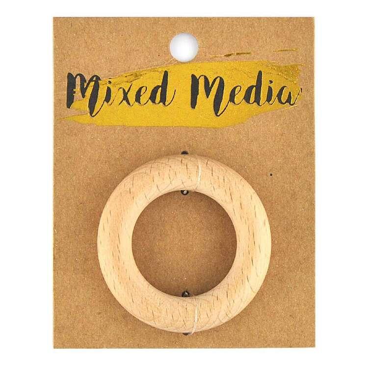 Ribtex Mixed Media Beechwood Ring