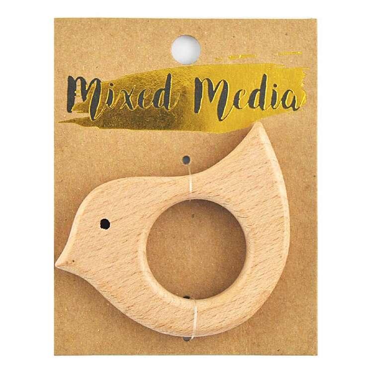 Ribtex Mixed Media Beechwood Duck Ring
