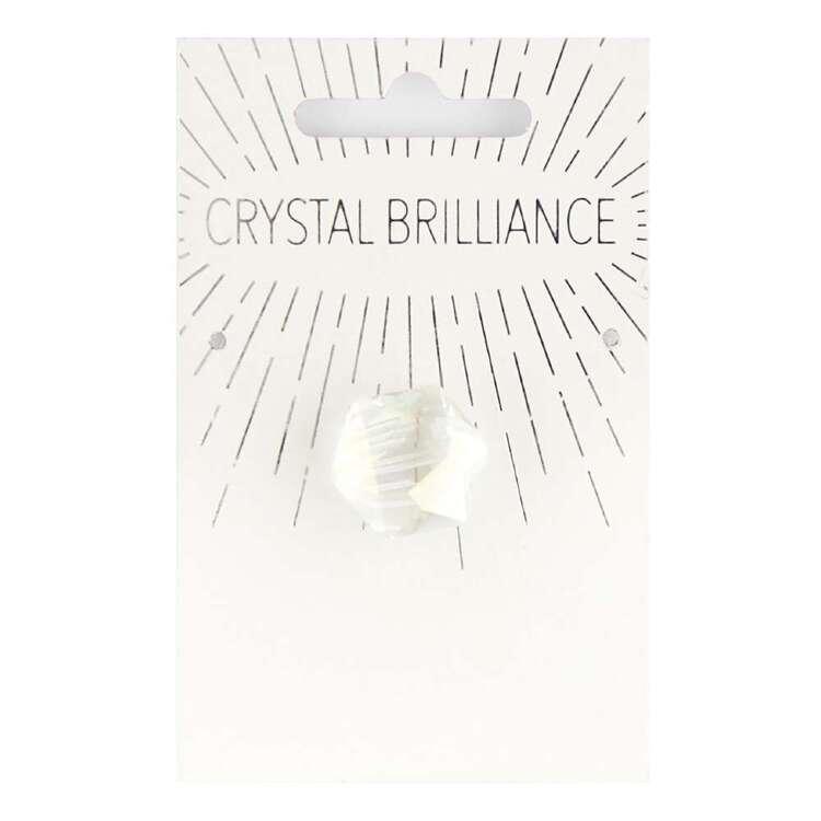 Ribtex Crystal Brilliance Chinese Pentagon Pendant