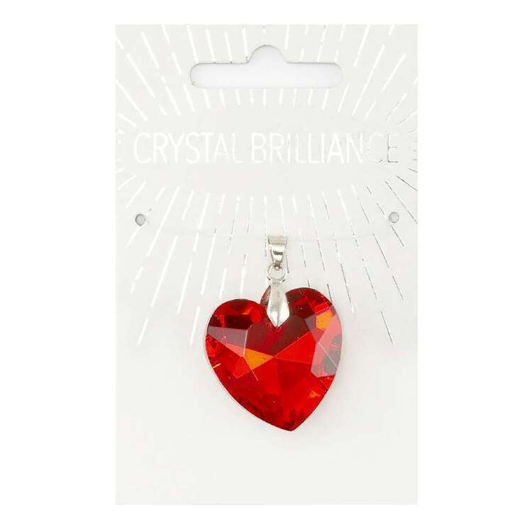 Ribtex Crystal Brilliance Chinese Heart Pendant