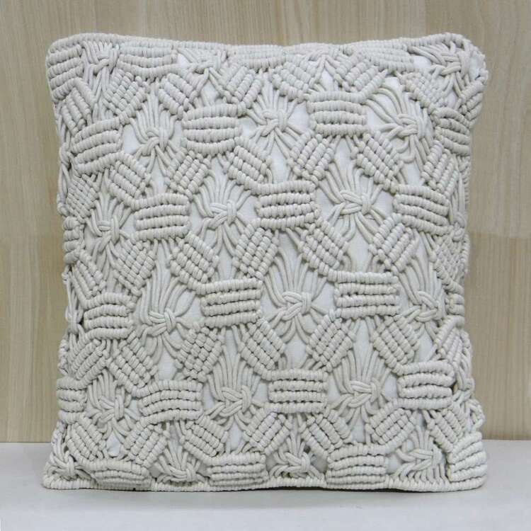 Ombre Home Wandering Nomad Artisan Soul Macrame Cushion