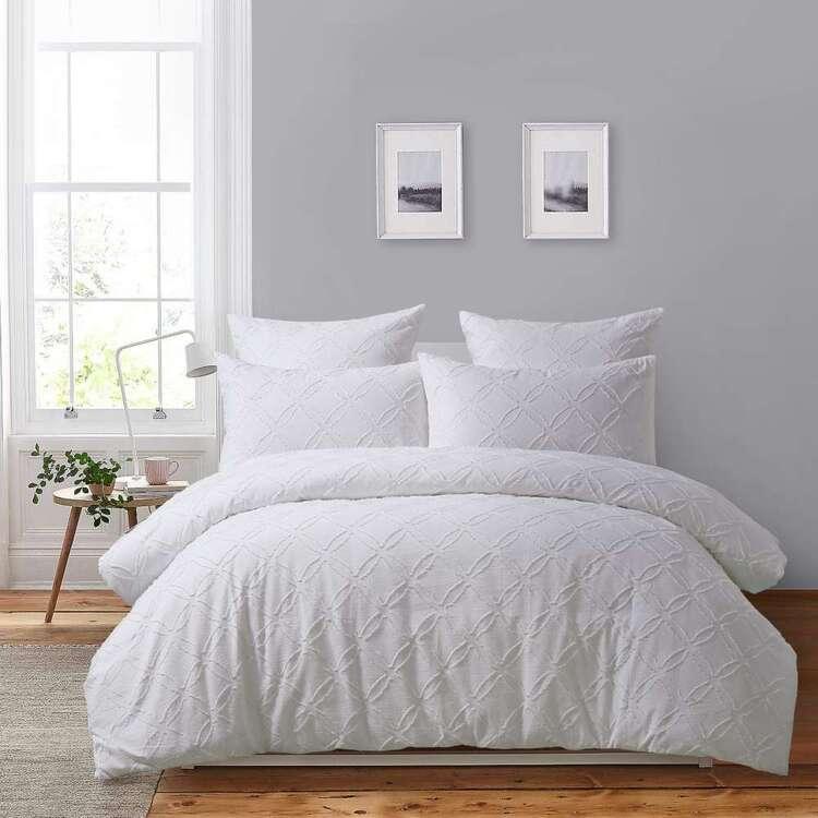 White Home Aleah Quilt Cover Set