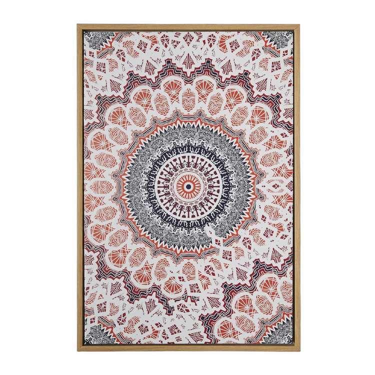 Ombre Home Artisan Soul Mandala Framed Print