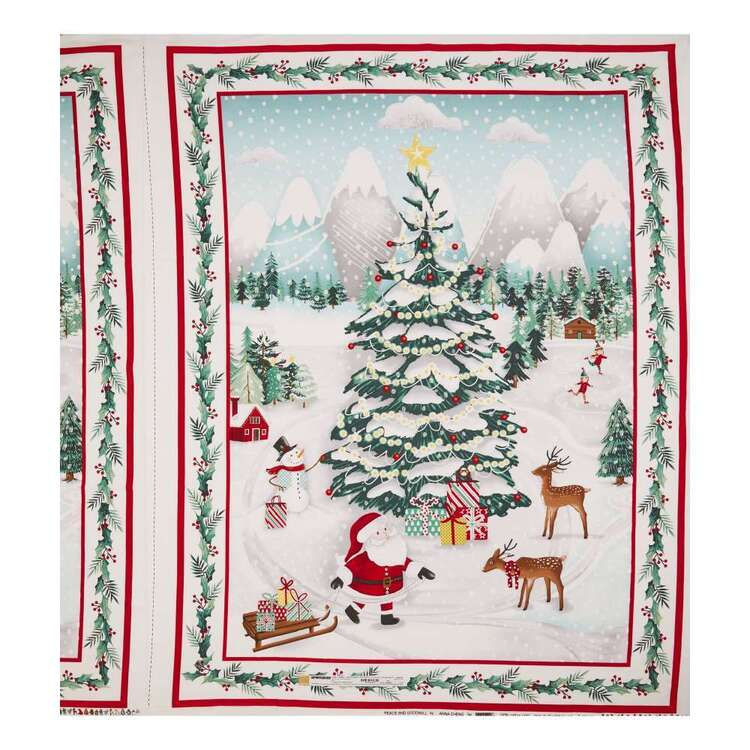 Studio E Peace & Goodwill Santa Cotton Panel