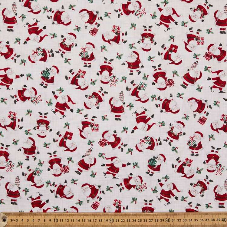 Studio E Peace & Goodwill Santa Cotton Fabric